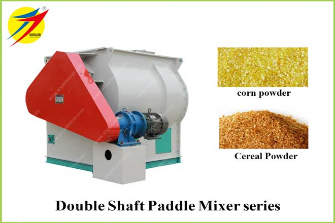 Double Shaft Paddle Mixer series