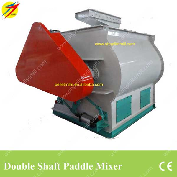 feed mixer | double shaft paddle feed mixer