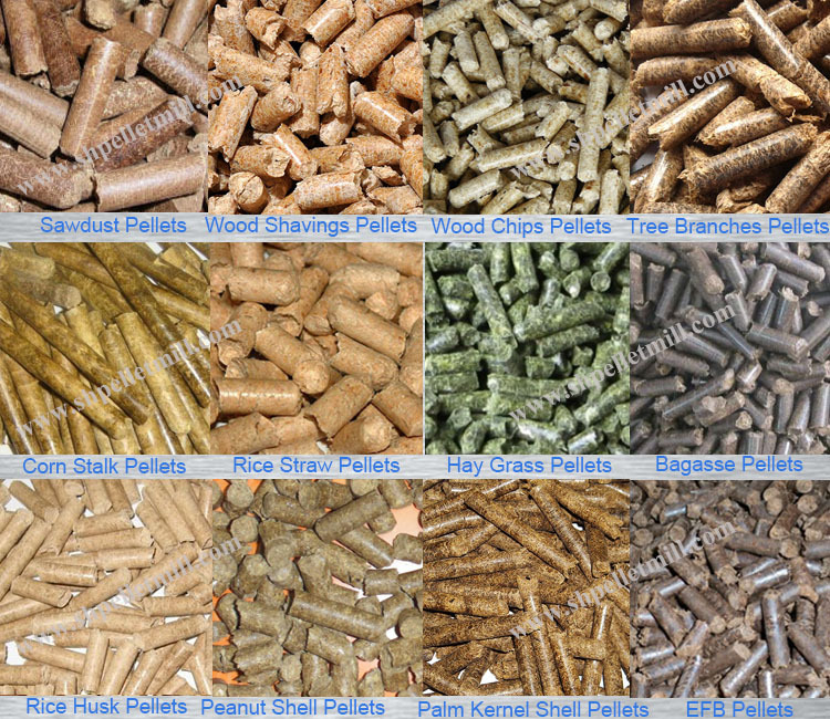 Types Of Wood Pellets ~ Wood pellet plant line