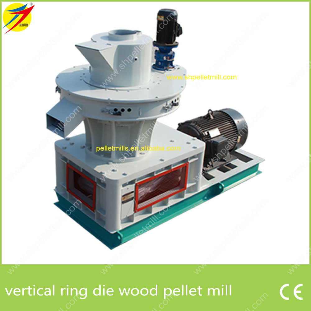 Wood pellet machine biomass