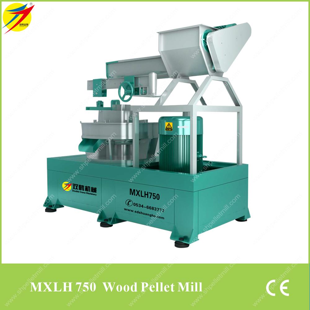 Biomass pellet mill wood sawdust