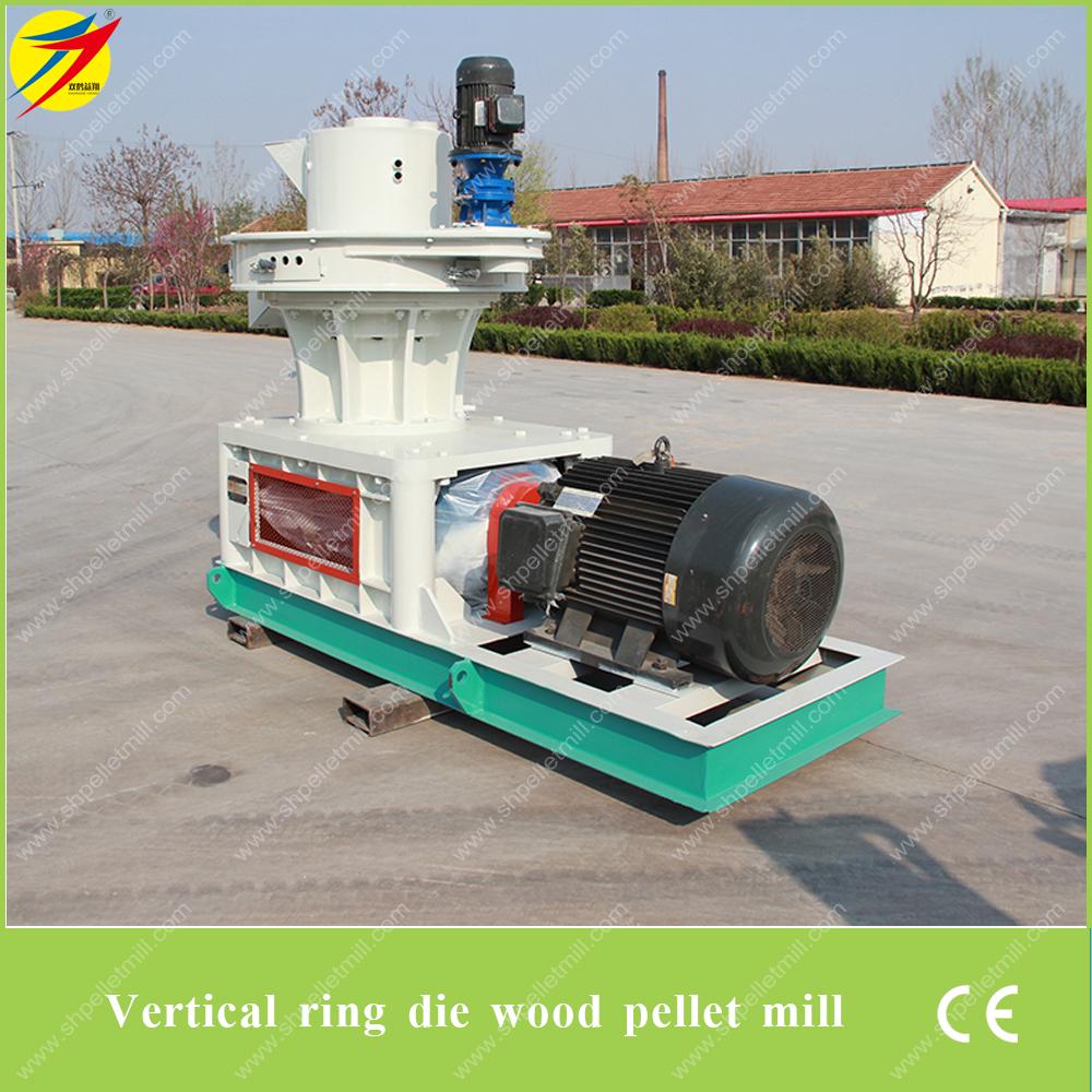 Wood pellet machine biomass