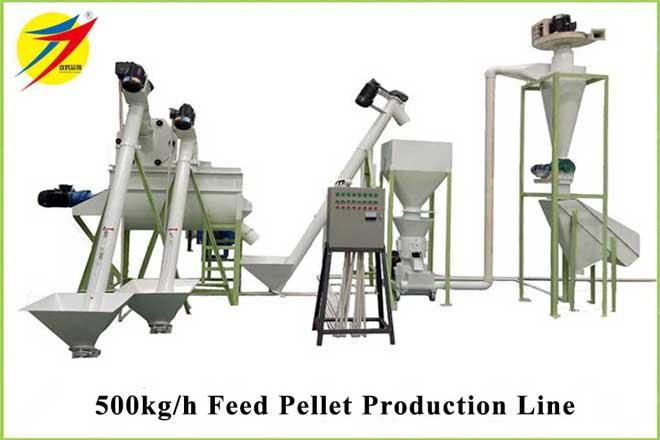 500kg Pellet Production Line