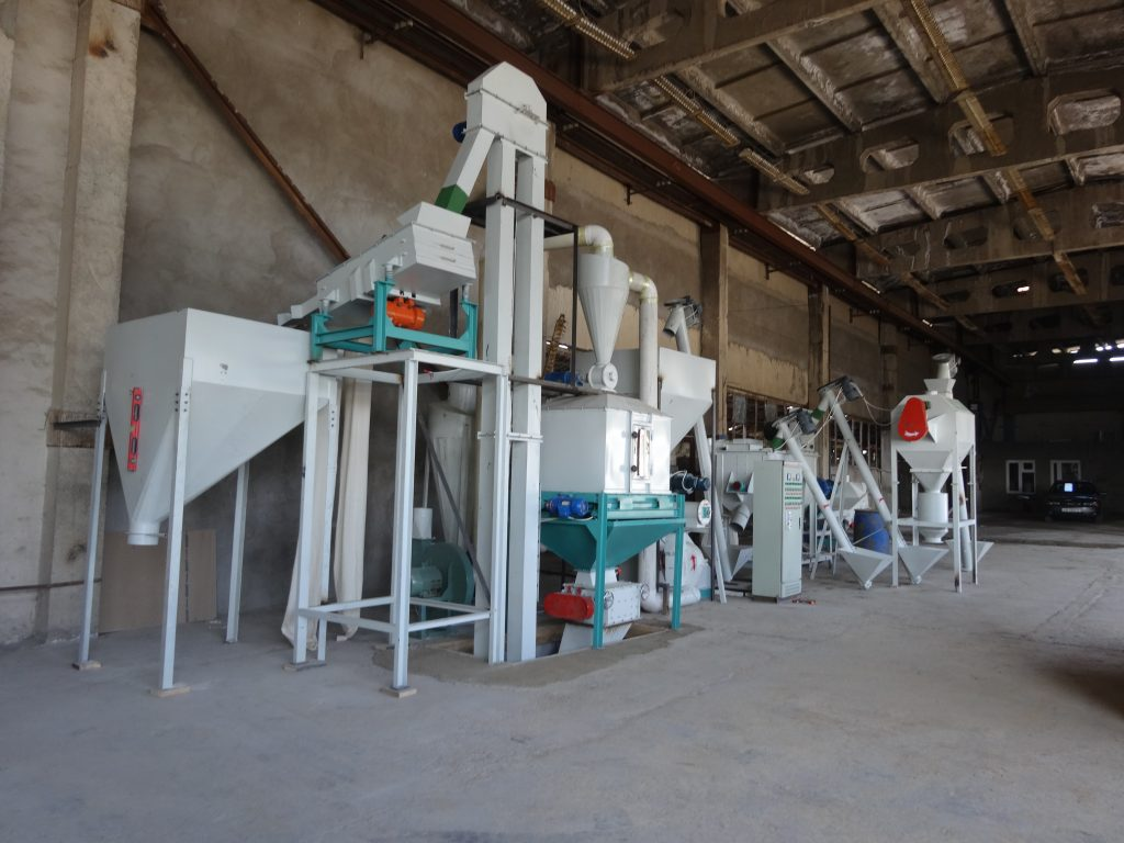 1t feed production line