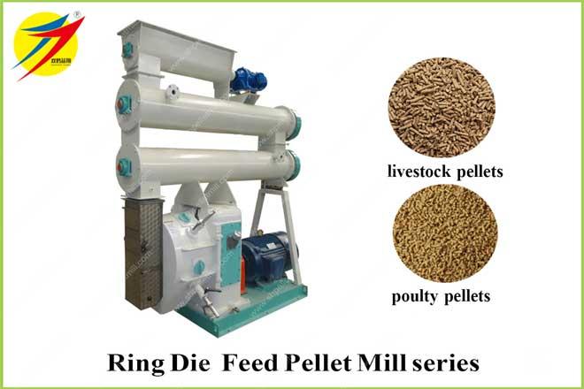Ring Die Feed Pellet Mill series