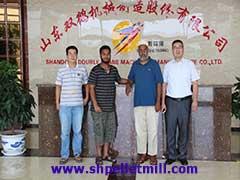 animal feed pellet mill customer from Malaysia