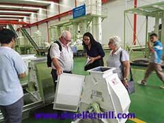 feed pellet mill customer from Australia