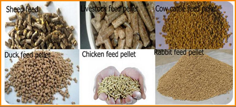 feed pellet produced by hkj250 feed pellet mill