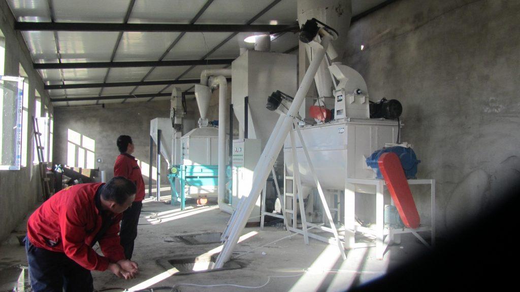 hkj250 feed production line 1
