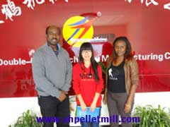 poultry feed pellet machine customer from Tanzania