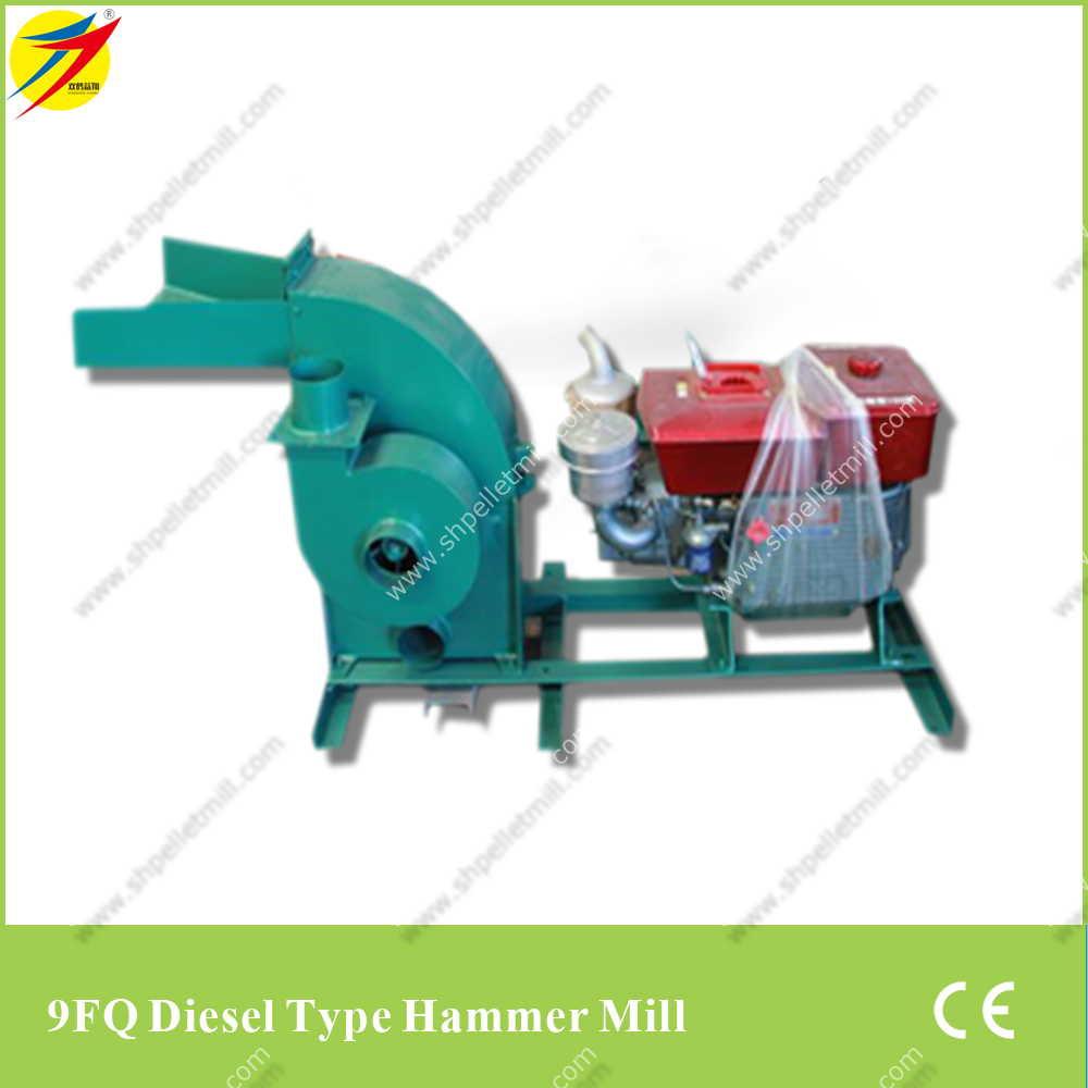 9fq-diesel-type-hammer-mill-machine
