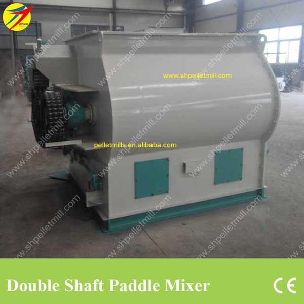Double shaft feed mixer1
