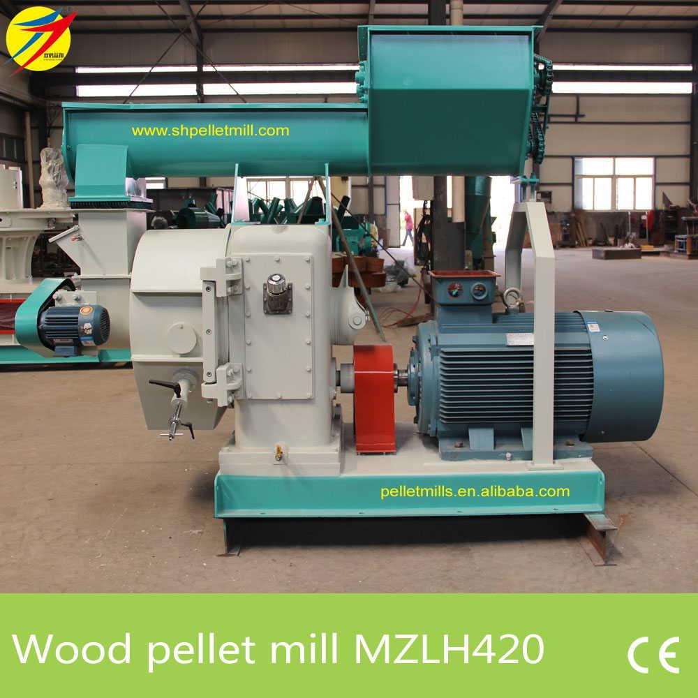 MZLH420 wood pellet mill 1