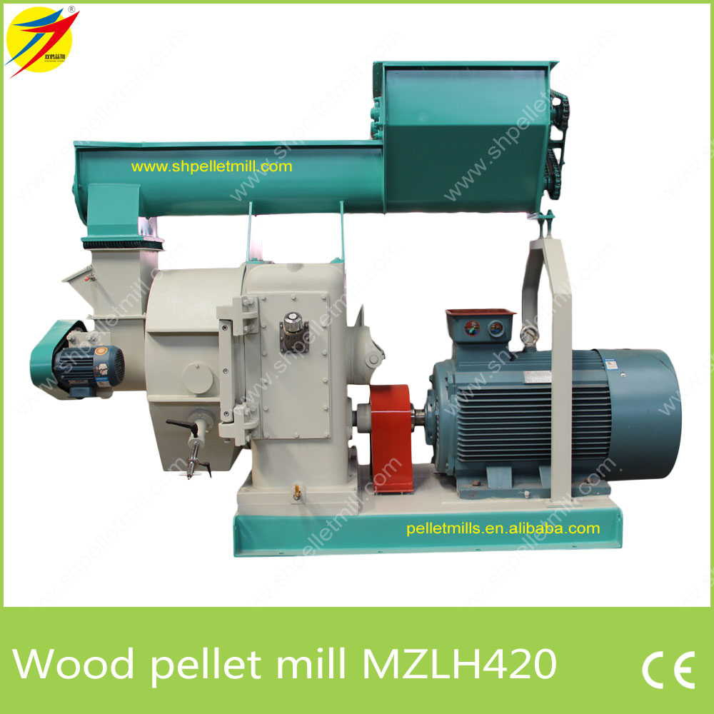 MZLH420 wood pellet maker