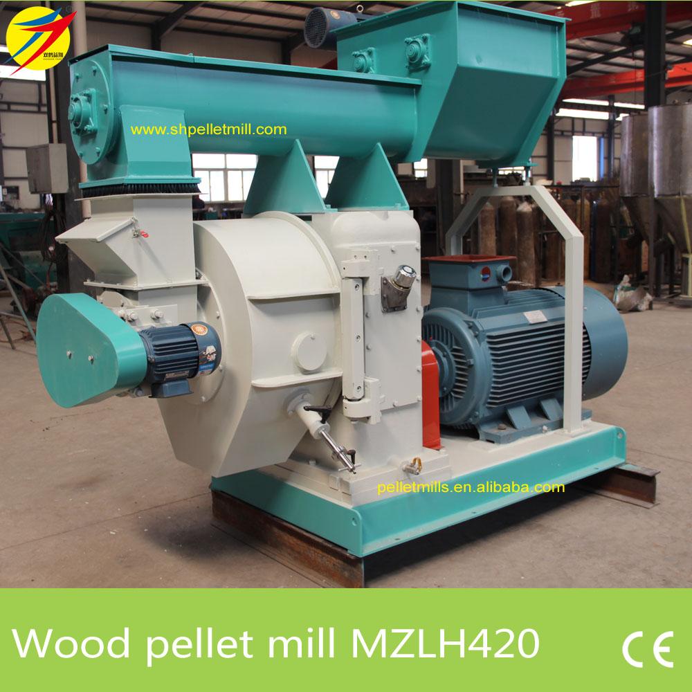 MZLH420 wood pellet mill 2