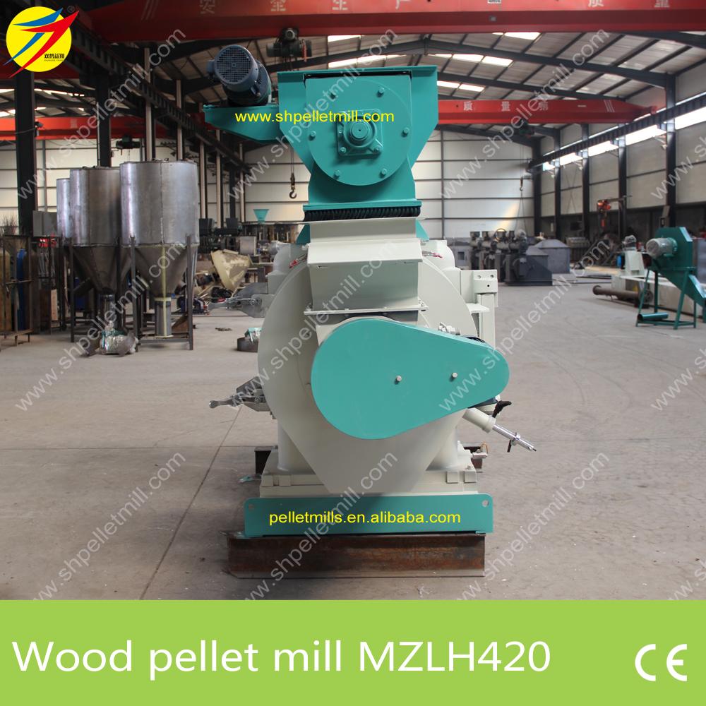 MZLH420 wood pellet mill 4