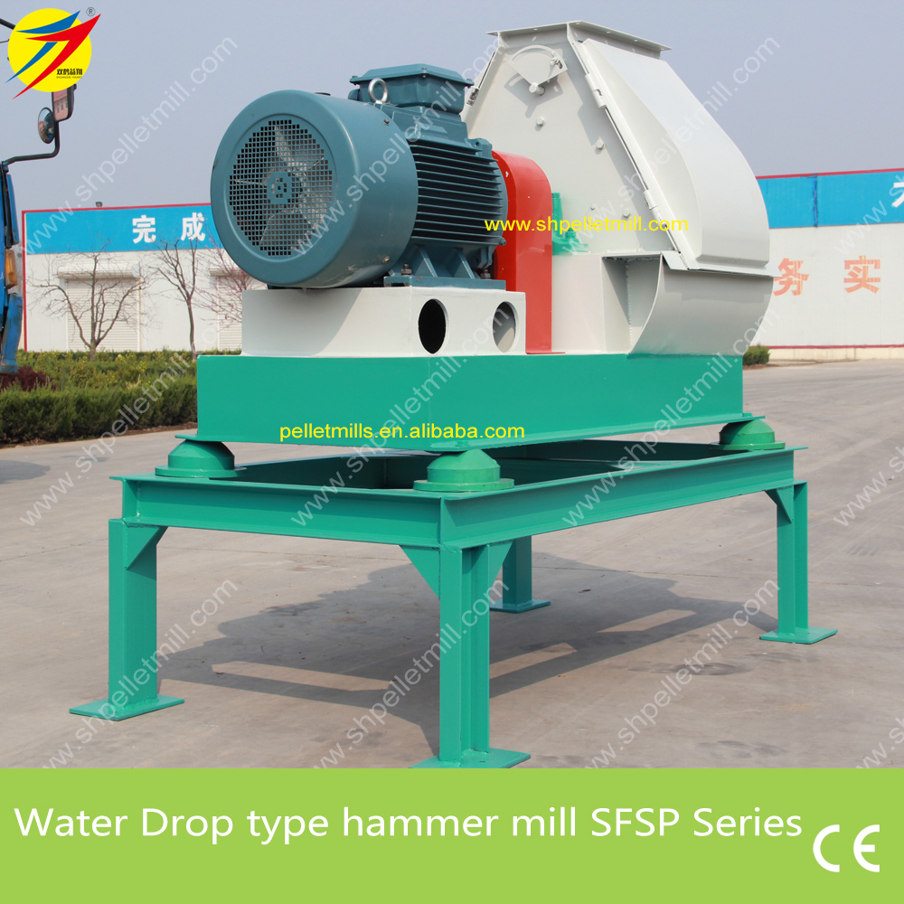 Water drop hammer mill 1