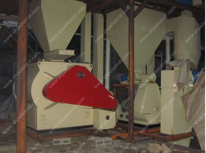 application of double shaft feed mixer 1