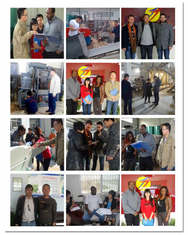 clients visit