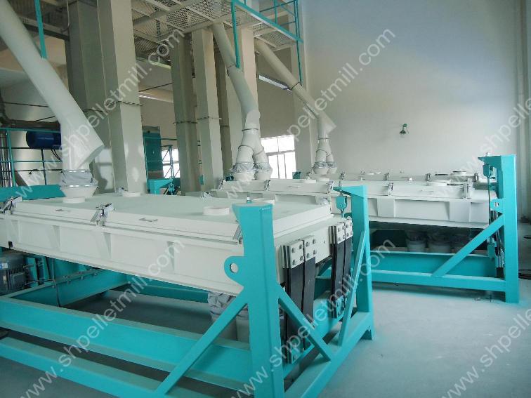 rotary screener