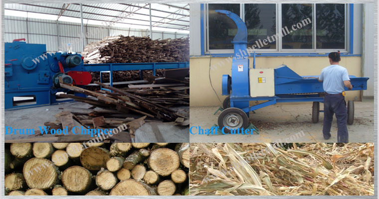 wood chip and chaff cutter