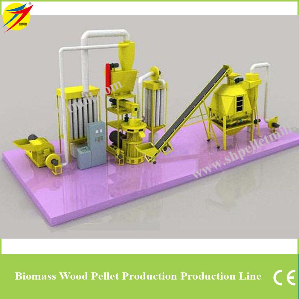 wood pellet line 3