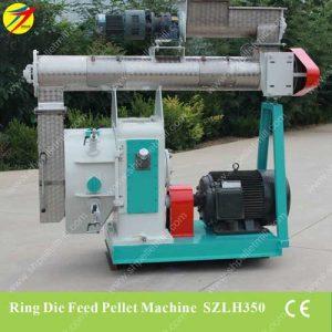 Ring die feed pellet machine
