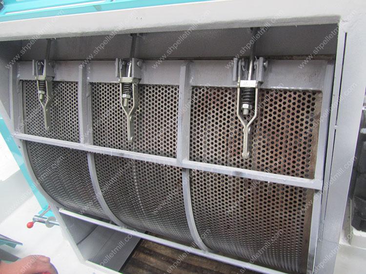 mesh of hammer mill