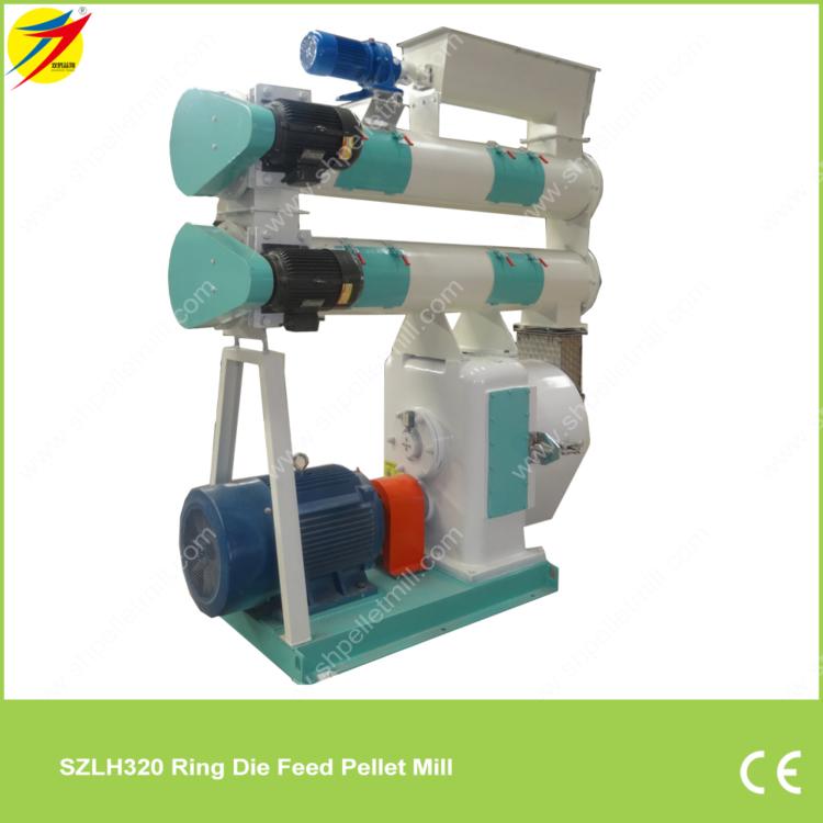 SZLH320 Ring Die Feed Pellet Mill