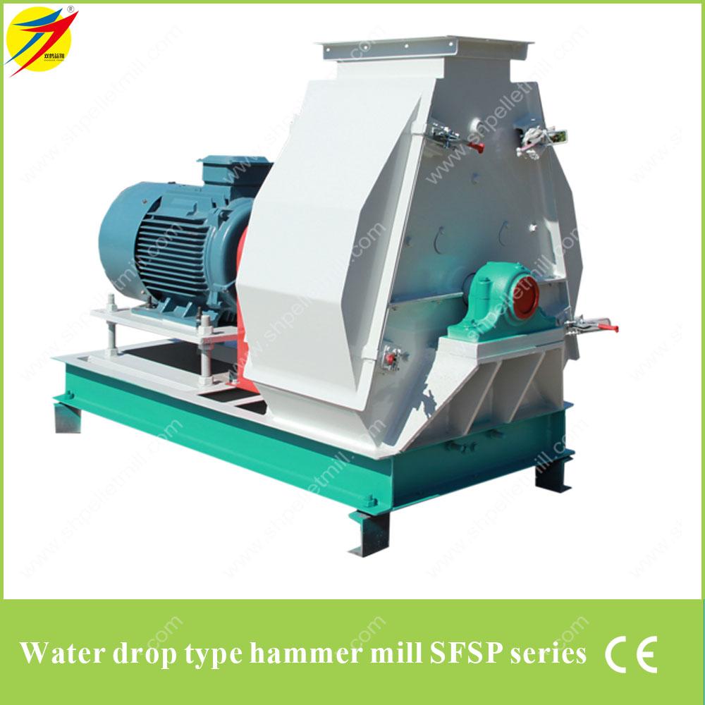 Water drop type hammer mill SFSP series