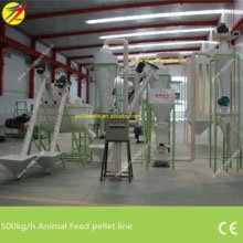 500kg/h feed pellet production line
