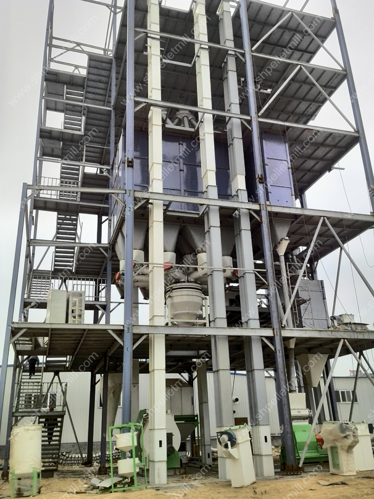 complete feed mill plant