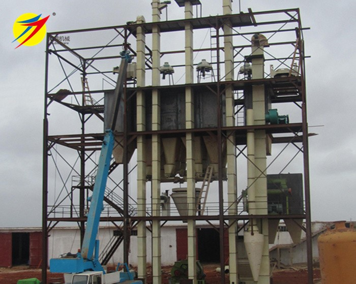 8-10 TPH poultry feed mill plant