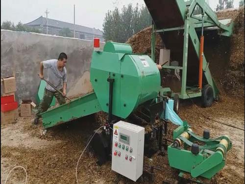 Full Automatic silage baler