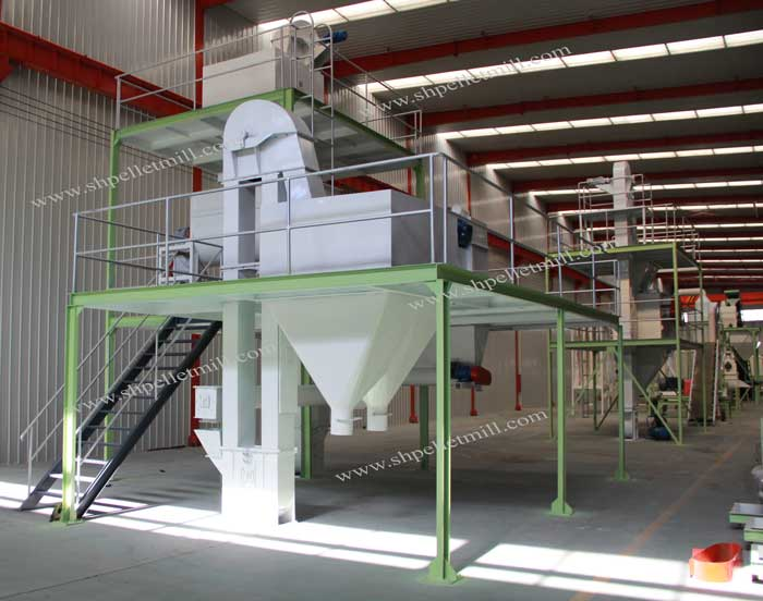 5t poultry feed mash plant