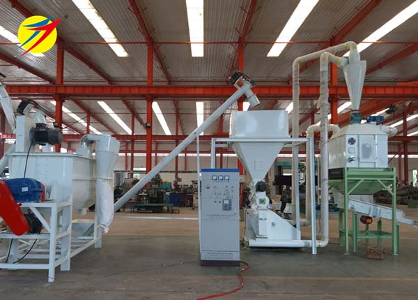 HKJ250 poultry feed plant