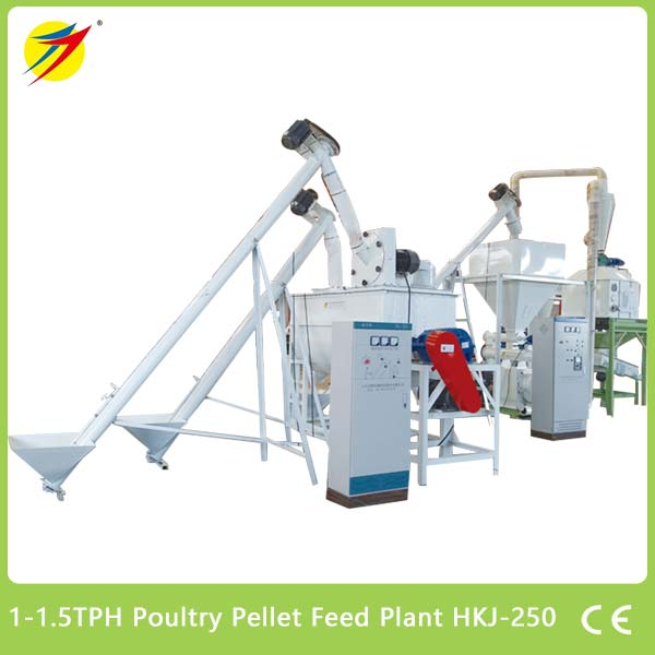 Poultry Pellet Feed Plant HKJ-250