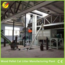 Wood Pellet Cat Litter Manufacturing Plant