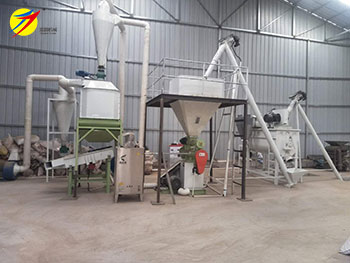 1tph chicken feed manufacturing plant