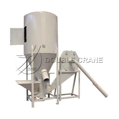 feed crusher and mixer