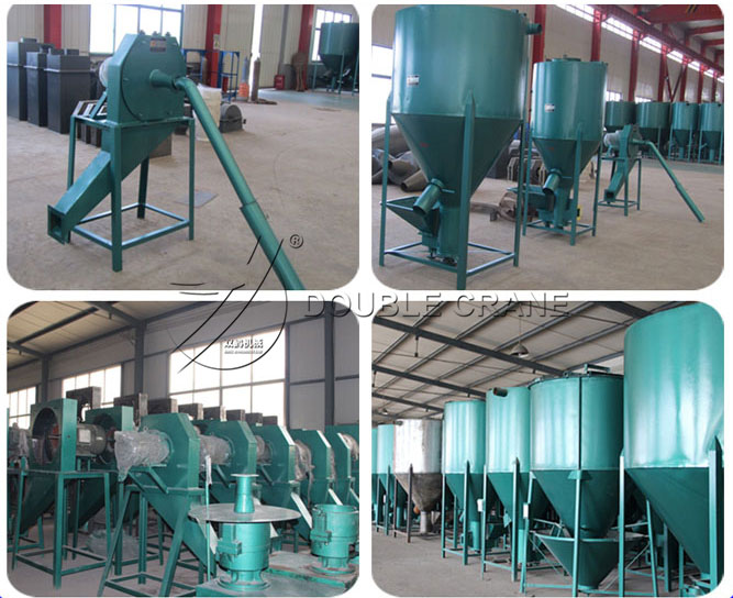 feed grinder and mixer unit